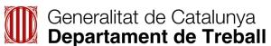 Logo DepTreball generalitat